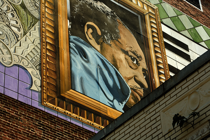 Yvonne j butler fine art photography visual art for Duke ellington mural
